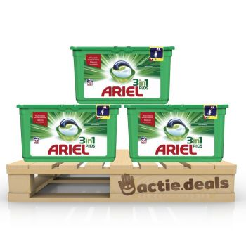 Ariel 3-in-1 PODS Original - kwartaalbox 105 wasbeurten
