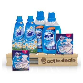 Voordeel At Home Waspakket - Wit