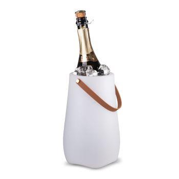 Wijnkoeler met lamp & speaker - Glad
