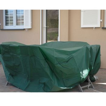 Tuinmeubelhoes - Rechthoekige tafel - Beschermend zeil