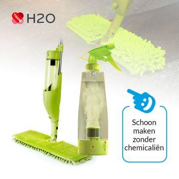H2O e3 Schoonmaaksysteem - zonder chemicaliën