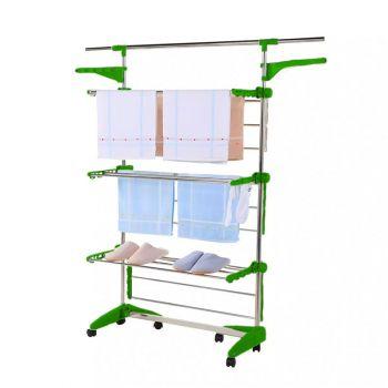 Herzberg Multifunctioneel droogrek Groen HG5015