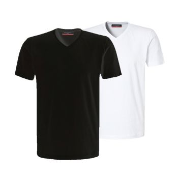Voordeelset Pierre Cardin t-shirts v-hals ( 2 stuks)