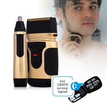 Power Touch Gold Edition - Draadloos scheerapparaat