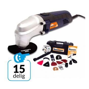 Renovator Multi-Tool Kit - 15-delig