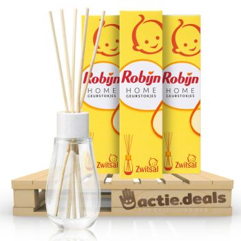 Robijn Zwitsal Geurstokjes - Voordeelverpakking 3 Stuks