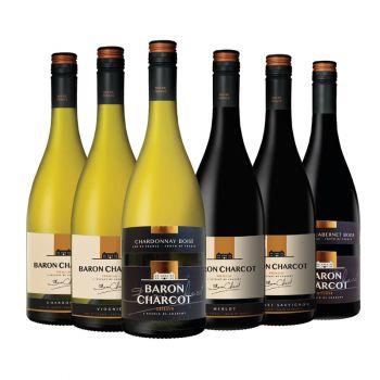 Wijnpakket Rondje Frankrijk
