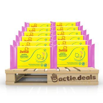 Voordeelpakket Zwitsal Sensitive Baby doekjes (684 stuks)