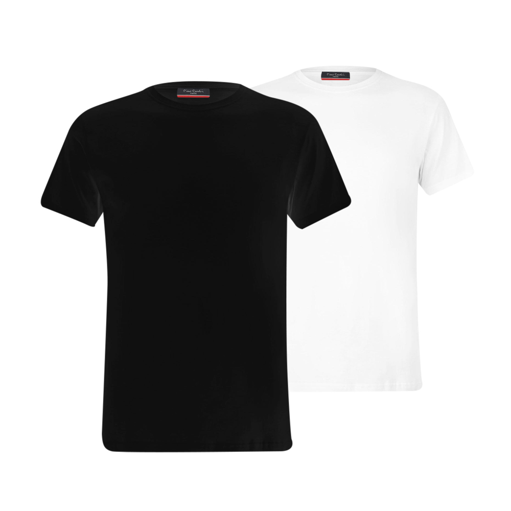 Voordeelset Pierre Cardin t shirts ronde hals ( 2 stuks)